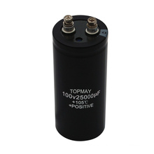 25000UF 100V Screw Terminal Electrolytic Capacitor
